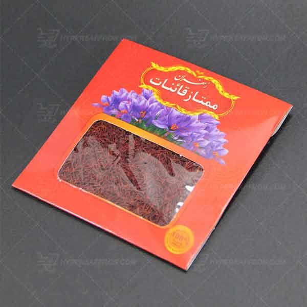 زعفران سرگل یک مثقال پاکتی